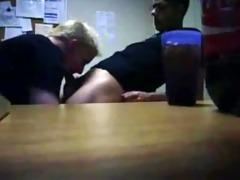 hidden cam - office suck straight lad