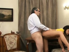 teacher is getting wet blow job stimulation
