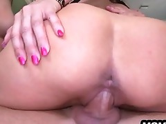 step-mom catches step-daughter getting fucked