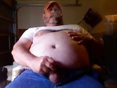 cigar smokin dad making cum