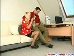 juvenile boss seduce aged secretary