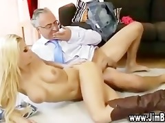 breasty doxy in sexy stockings and heels