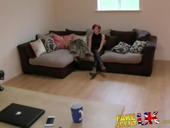fakeagentuk miniature cash strapped milf gives