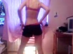 girlfriends sister undresses on webcam