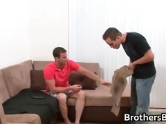 brothers concupiscent boyfriend gets cock part4