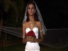 1 father 1 bride 5 belt on maids