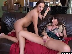 step-mom catches step-daughter getting drilled