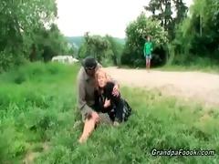 hawt babe makes this older couple lustful