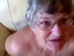 old granny likes to engulf youthful cocks