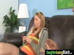 watch my daughter getting a dark monster knob 2