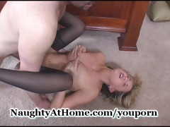 non-professional wife having agonorgasmos