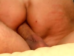mature fucked in her ass