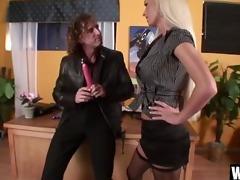 tony de sergio bangs sexy blonde lichelle marie