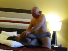 white dad breeds dark chub ass