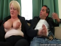 some fuckfest with granny