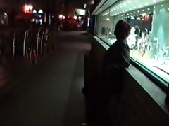 russian older prostitute pick her customer in the