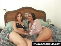 mamma and daughter share a guy