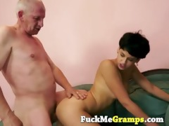 horny old guy with chloe