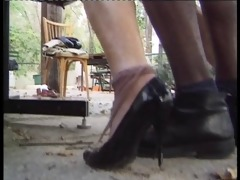 mature french maid get screwed by 2 huge cocks