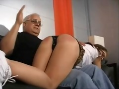 american pornstar tabitha james spanked by old guy