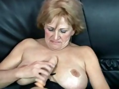 indecent granny gets drilled by muscle lad