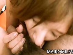 hitomi fujiwara - lewd japanese mom fucked and