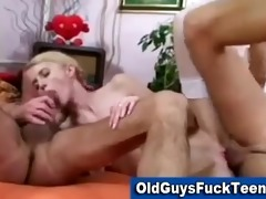 old guys blowjob by sexy younger babe
