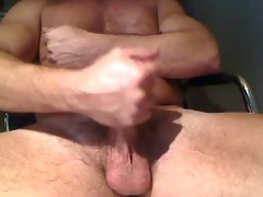big daddy eats his cumload