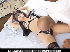fetish fun with a horny av model tied and screwed