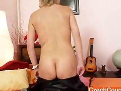 good-looking goddess wife performs strange
