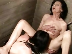 old brunette babe wants some youthful sexy pussy