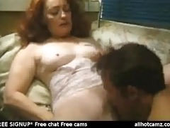 mature redhead madison getting her furry pussy