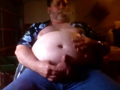 see fat cigar dad cum