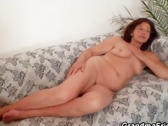 nasty granny takes two youthful dicks