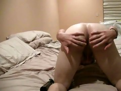 virgin receives handjob then rimmed and fucked