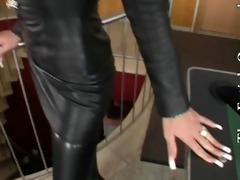 leather petticoat