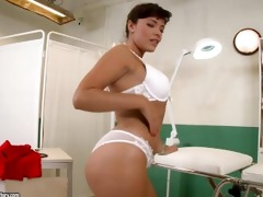 doctor sucking her patients large wang to cure him