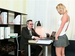irrumation for mature teacher