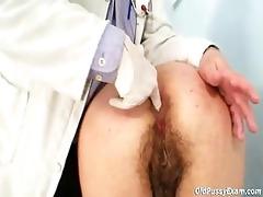 horny grandpa doctor examines granny irmas shaggy