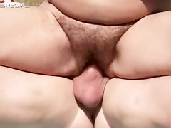 concupiscent milf gets her unshaved muf screwed