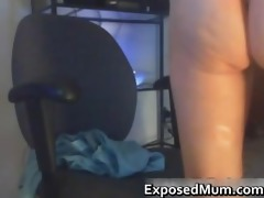 mom takes it is from behind on the computer part6