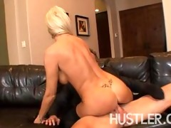 wild milf slamming pussy down on pounder