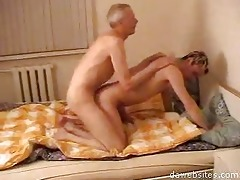 old homo bangs his young amateur guy hard