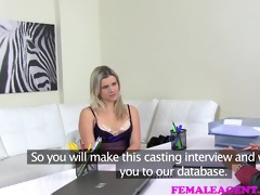 femaleagent milf strikes a deal with hopeless