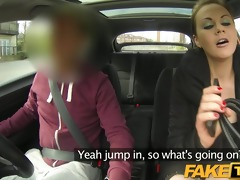 faketaxi posh woman pays nice specie for a fuck