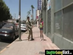 young daughter with nice wazoo screwed by a