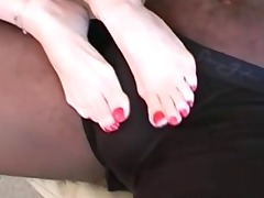 janet mason fan footjob: terry
