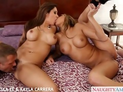 gorgeous francesca lee and kayla carerra fucking