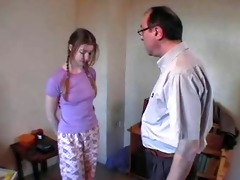 dad &; ally spank beautiful daughter xlx