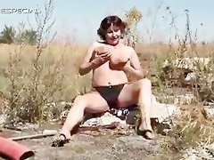 horny mother i gets her unshaved muf screwed part1